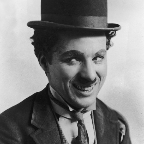 Charlie Chaplin as the Tramp (Getty Images / Hulton Archive)