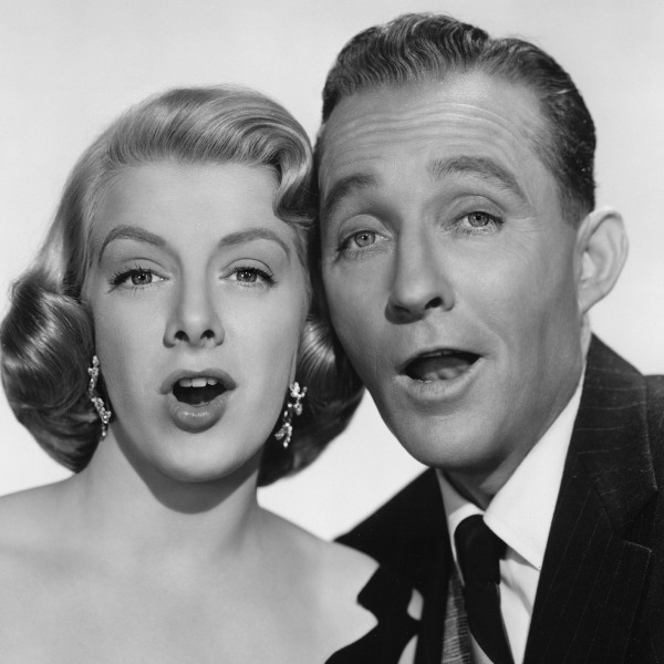 "Bing Crosby and Rosemary Clooney in ""White Christmas"" (Everett Collection)"
