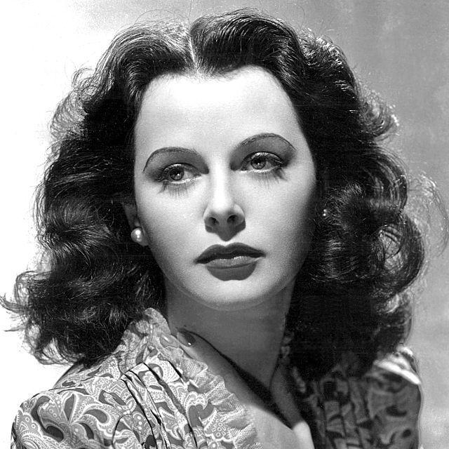 Hedy Lamarr (Wikimedia Commons)