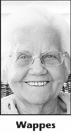 Martha Zeigler Wappes obituary photo
