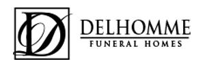 Delhomme Funeral Home Logo