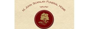 M. John Scanlan Funeral Home Logo