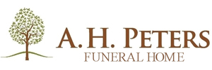A.H. Peters Funeral Home Logo