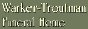 Warker-Troutman Funeral Home Logo