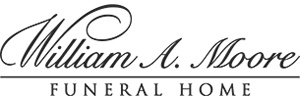 William A. Moore Funeral Home Logo