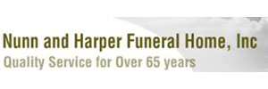 Nunn and Harper Funeral Home Inc Logo