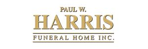 Paul W. Harris Funeral Home Logo