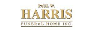 Paul W. Harris Funeral Home Logo