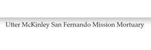 Utter-McKinley San Fernando Mission Mortuary Logo