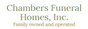 Chambers Funeral Homes - North Olmsted Logo