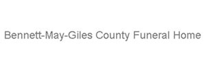 Bennett-May-Giles County Funeral Home Logo