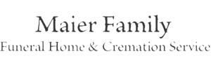 Maier Family Funeral Home Logo