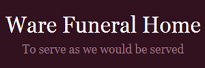 Ware Funeral Home Logo