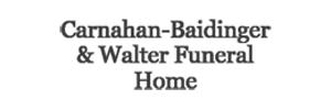 Carnahan-Baidinger & Walter Funeral Home  - Spencerville Logo
