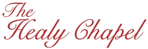 The Healy Chapel, Aurora Logo