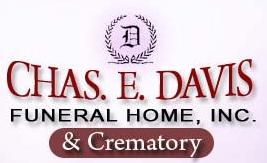 Chas E. Davis Funeral Home Logo