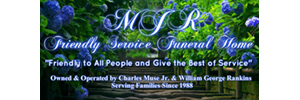 MJR Friendly Service Funeral Home © Logo