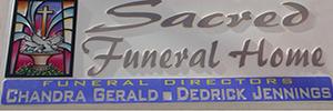 Sacred Funeral Home Logo