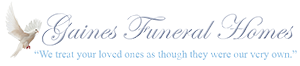 Gaines Funeral Home Logo