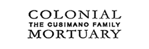 Cusimano Family Colonial Mortuary Logo