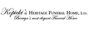 Kopicki's Heritage Funeral Home Logo