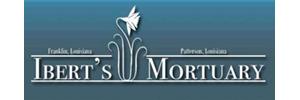 Ibert's Mortuary Logo