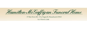 Hamilton-McGaffigan Funeral Home Logo