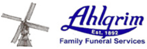 Ahlgrim Family Funeral Homes Logo