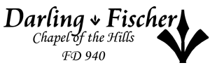 Darling-Fischer Chapel of the Hills Logo