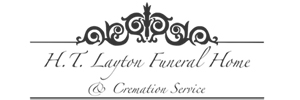 H T Layton Funeral Home & Cremation Service Logo