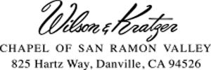 Wilson & Kratzer Chapel San Ramon Logo