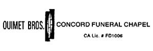 Ouimet Bros. Concord Logo