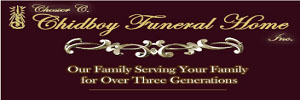 The Chester C. Chidboy Funeral Home, Clearfield Logo