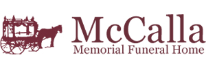 McCalla Memorial Funeral Home Logo