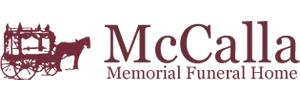 McCalla Memorial Funeral Home Logo
