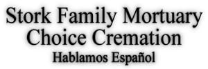 Stork Family Mortuary Logo