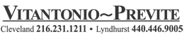Vitantonio-Previte Cleveland Logo