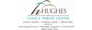 Hughes Family Tribute Center Logo
