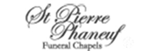 St Pierre Phaneuf Aldenville Funeral Chapel Logo