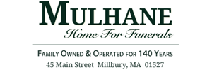 Mulhane Home For Funerals Logo