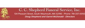 C. C. Shepherd Funeral Service Inc. Logo