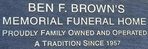 Brown's Memorial Funeral Home, Inc. Logo