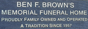 Brown's Memorial Funeral Home, Inc. Logo