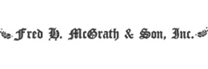FRED H MCGRATH & SON Logo