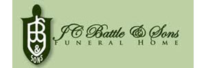 JC Battle and Sons Funeral Home Logo