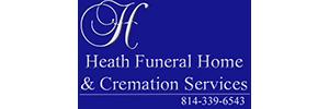 Heath Funeral Home Logo