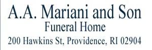A A Mariani & Son Funeral Home Logo