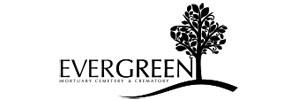 Evergreen Mortuary Cemetery Crematory Logo