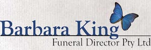Barbara King Funeral Director Logo