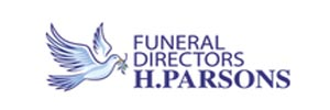 H Parsons Funeral Director Logo